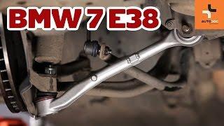 Kā nomainīt BMW 7 E38 priekšas riteņa balsta kronšteins Pamācība | Autodoc