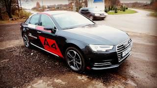 Тест-Драйв:Audi A4 B9