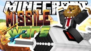 EPIC ROCKET EXPLOSIONS - Minecraft Missile Wars
