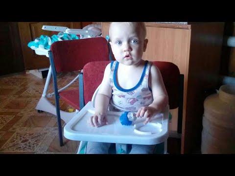 Купила стул-бустер для кормления Babyton