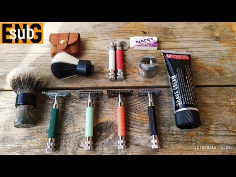 437 Косорез и другие станки от Yaqi. Uppercut Deluxe Shave Cream. Одеколон О Жен бритьё, #homelike