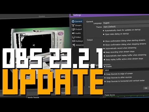 OBS 23.2.1 Update is Here! - Preview Transitions, Luma Key, dB & More!