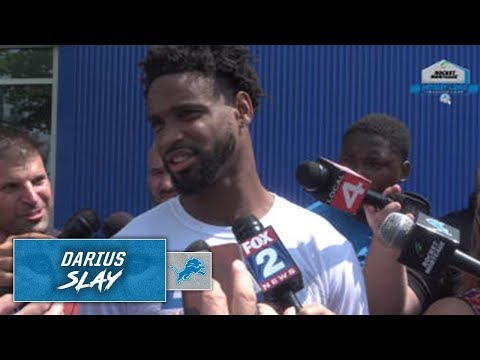 Darius Slay On First Joint Practice With Giants