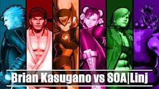 UMvC3 (FT 10) - Brian Kasugano vs SOA|Linj