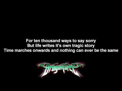 DragonForce - The Game ft. Matt Heafy | Lyrics on screen | Full HD