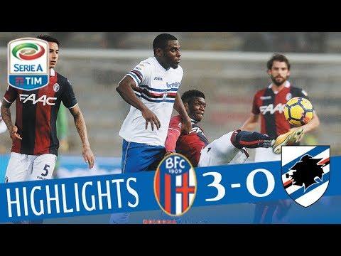 Bologna - Sampdoria 3-0 - Highlights - Giornata 14 - Serie A TIM 2017/18