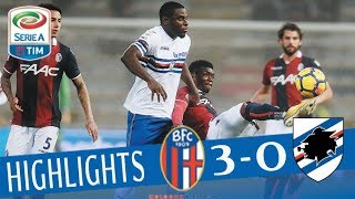 Bologna - Sampdoria 3-0 - Highlights - Giornata 14 - Serie A TIM 2017/18 streaming