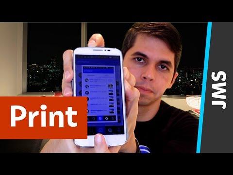 Como tirar Print da tela do Celular