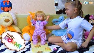Обзор новой Куклы от Ярославы. Игрушки для детей. Little Mommy Walk & Giggle Doll. Tiki Taki Kids
