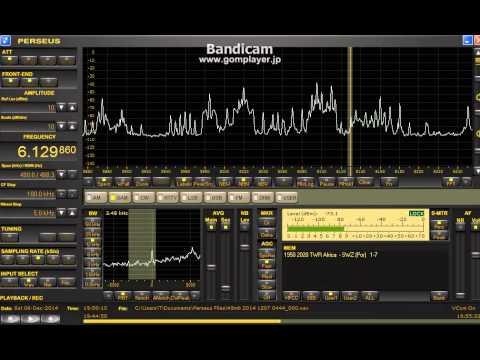 6129.86kHz Trans World Radio Swaziland / Dec 06,2014 1950 UTC