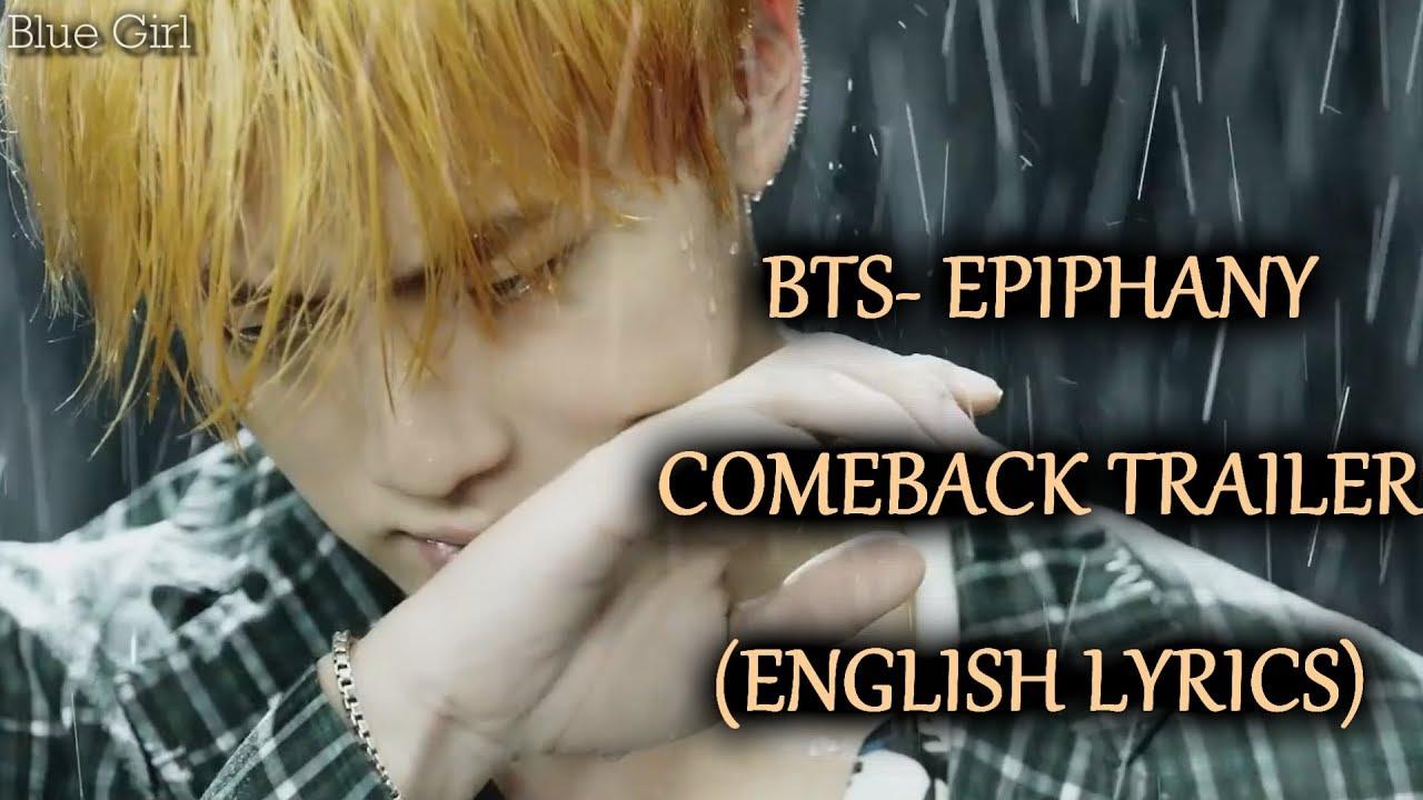 BTS-EPIPHANY [Eng Lyrics]+DOWNLOAD LINK- COMEBACK TRAILER (Love Yourself 結  Answer)