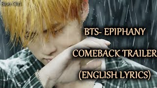 Gambar cover BTS-EPIPHANY [Eng Lyrics]+DOWNLOAD LINK- COMEBACK TRAILER (Love Yourself 結 Answer)