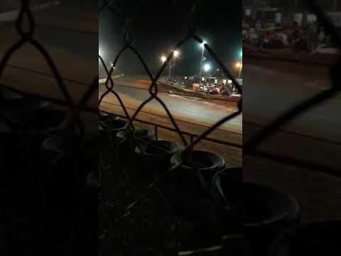 Sumter speedway crazy turn one crash! 7/27/19