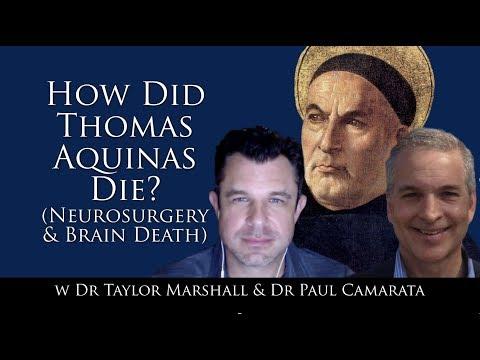 How did Thomas Aquinas Die? Neurosurgery and Brain Death