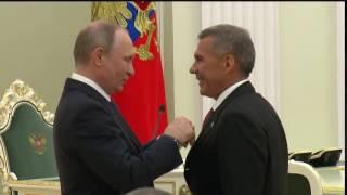 Минниханов награжден орденом Невского
