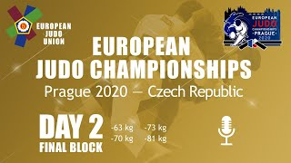 Day 2: Finals - European Judo Championships 2020