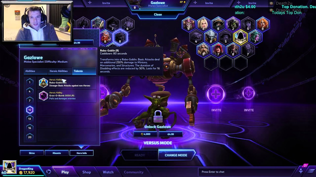 Hots Gazlowe Build The best site dedicated to analyzing heroes of the storm replay files. hots gazlowe build