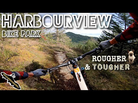 Mountain Biking On Vancouver Island - Sooke Harbourview Bike Park - Rougher And Tougher