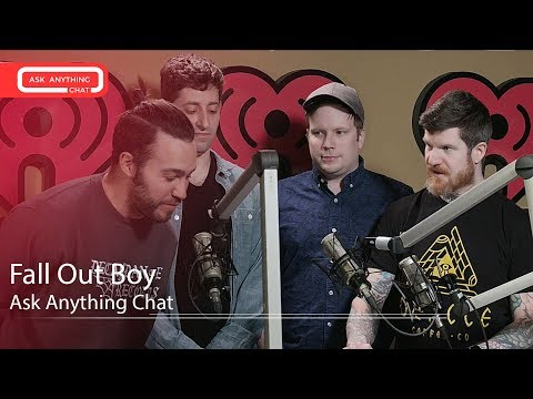 Pete From Fall Out Boy Reminds Andy That He Fell For The Old Marco POLO Gag