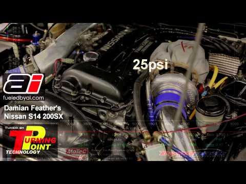 S14 sr20det gt30r twin scroll mustang dyno las vegas by mhasood entezar
