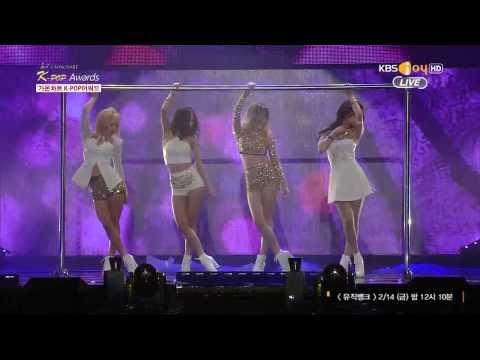 [1080p]140212 가온차트 missA-Hush (Gaon Kpop Chart Awards missA Cut)