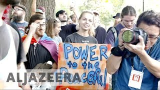 Boston anti-racist protesters swarm right-wing 'free-speech' rally
