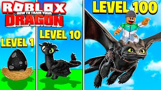 I BECAME A LEVEL 100 ROBLOX DRAGON...