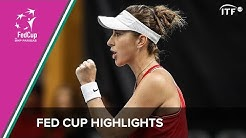 Switzerland vs Canada   Fed Cup Qualifiers 2020   ITF