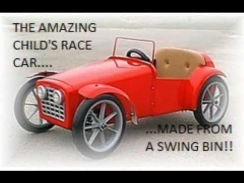For Sale Childs Electric Race Car Plans - YouTube