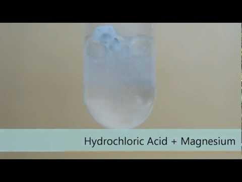 Hydrochloric Acid + Magnesium