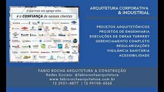 Fabio Rocha Arquitetura & Construção | Portfolio Corporativo