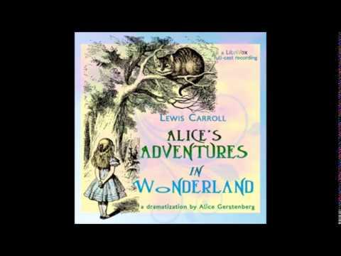 ALICE IN WONDERLAND - Full AudioBook - Alice Gerstenberg