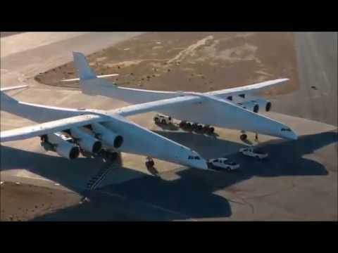 Paul Allen's Six-engined Monster Plane prepares for Space deliveries