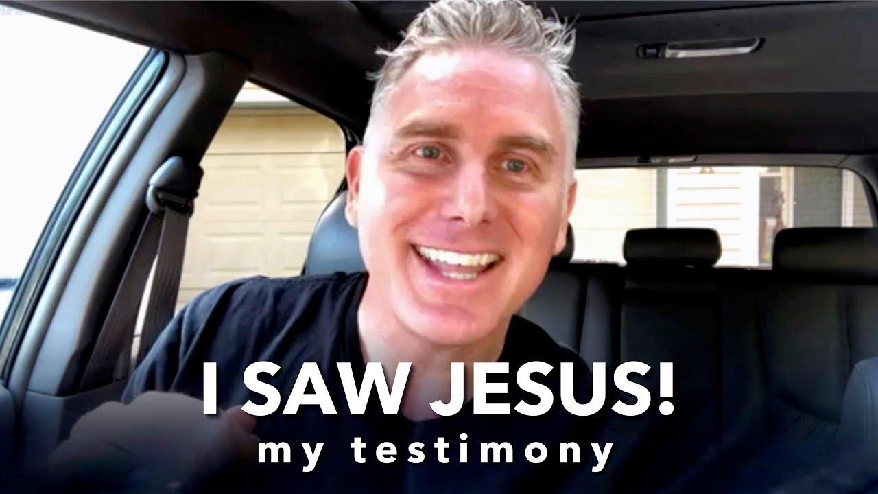 I Saw Jesus Christ - Christian Salvation Testimony - YouTube