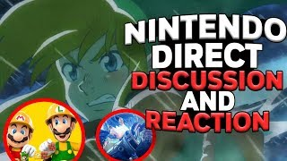 NEW LEGEND OF ZELDA GAME! Nintendo Direct Discussion and Reaction!