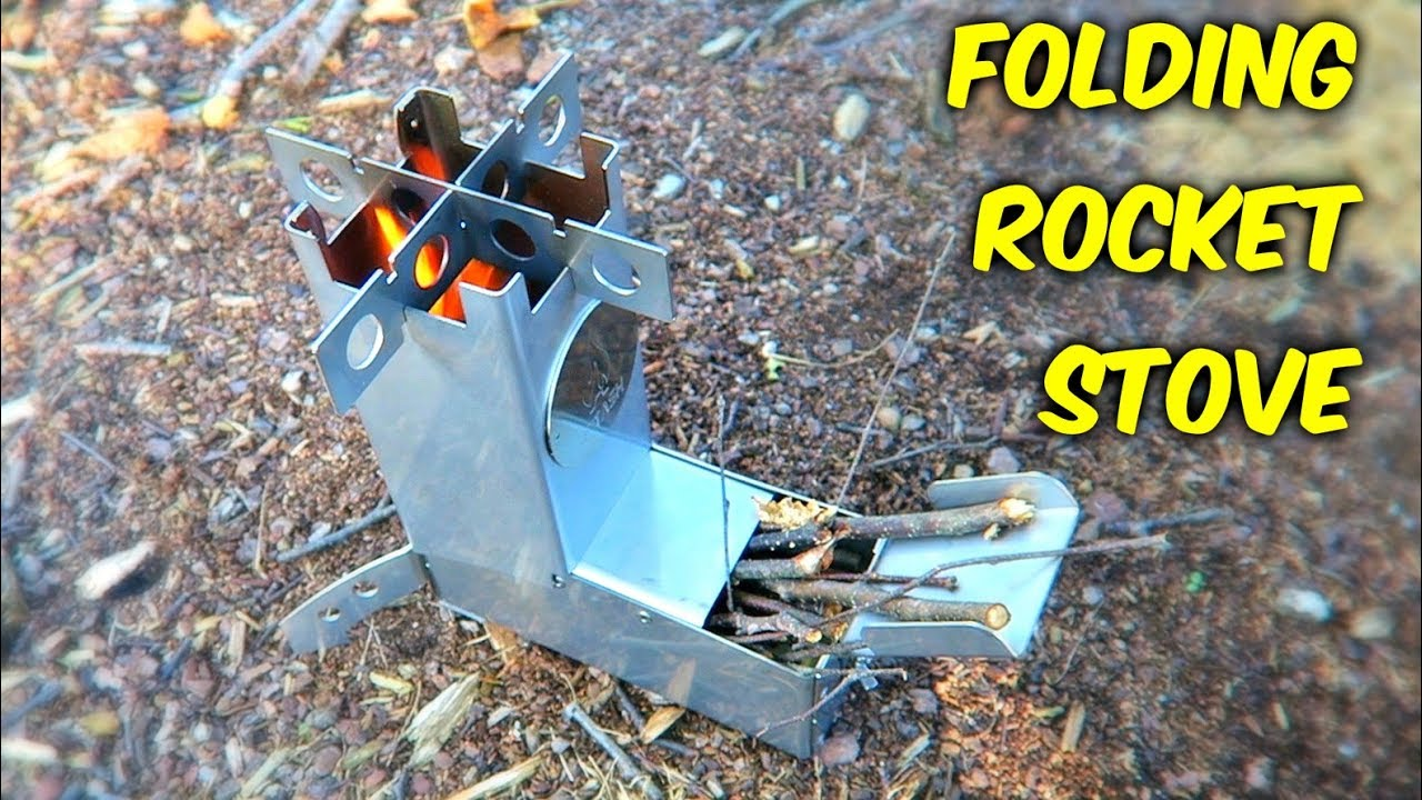 How to fold the stove 75