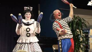 Ringling Brothers Circus Clowns at the Library