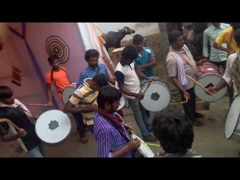 Teenmar beat at Ganesh nimajjanam....