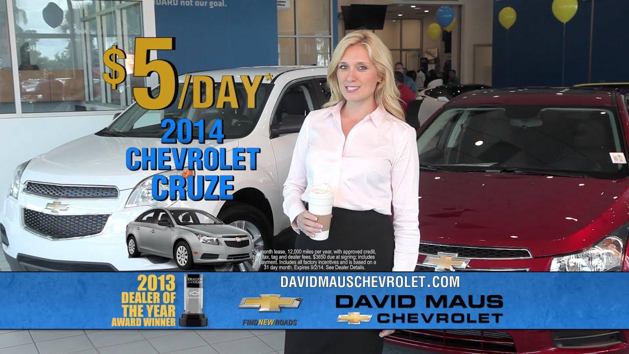 David Maus Chevrolet   Chevrolet Or Latte :30   YouTube