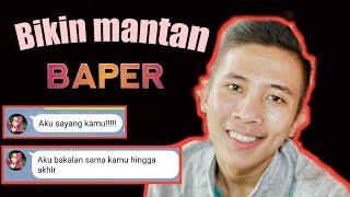 Buat MANTAN BAPER gila!!!  Bikin SUSAH MOVEON | PRANK text