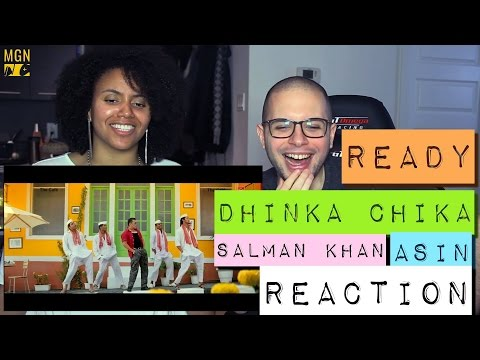 Dhinka Chika - Ready | Salman Khan | Asin Reaction