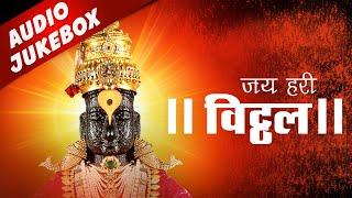 Ashadi Ekadashi Songs - Jai Hari Vitthal   Marathi Vitthal Songs   Bhaktigeet   आषाढी एकादशी गाणी