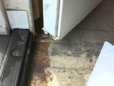 French Door Leaks Water Into Home 1 Of 2 Video Youtube