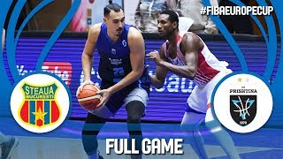 Steaua Bucuresti (ROU) v Z Mobile Prishtina (KOS) - Full Game - FIBA Europe Cup 2018-19