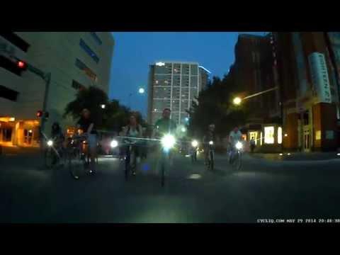 Dallas Critical Mass - May 29 2015 (Full Video)