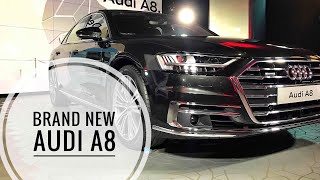 NEW Audi A8 Full Interior and Exterior Review, OLED Light Effects, Amazing Gadgets