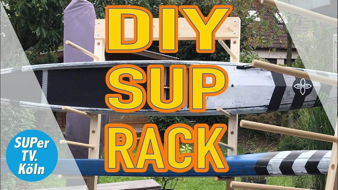 epic diy sup board rack