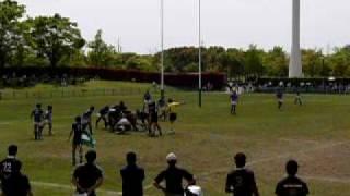 第58回関東高等学校ラグビーフットボール大会埼玉県予選 浦和vs深谷