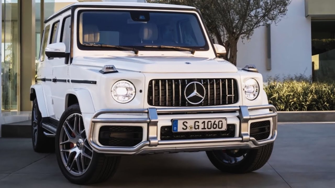 2019 mercedes g63 new g class full 2018 g wagon features interior exterior youtube. Black Bedroom Furniture Sets. Home Design Ideas