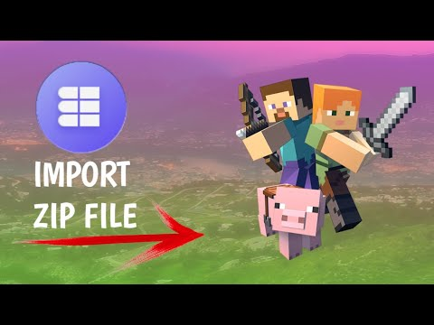 How To Use Zip File In Minecraft Pe (mods, Add-ons Maps)